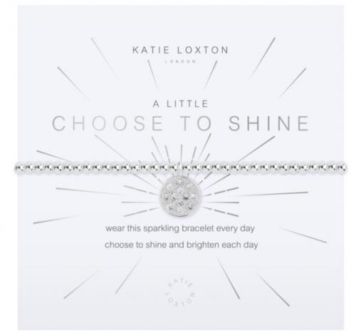 Katie Loxton A Little Choose to Shine Bracelet