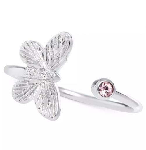 Olivia Burton Crystal Butterfly Cuff Ring
