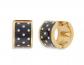 Kate Spade Heritage Huggie Hoop Earrings