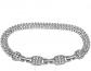 Jomashop Swarovski Rhodium Plated Bracelet