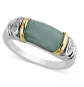 Macy's 14k Gold and Sterling Silver Ring