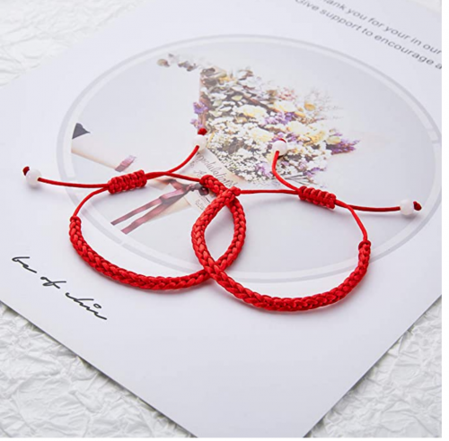 DESIMTION Red String of Fate Couples Bracelets