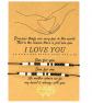 Valentines Morse Code Bracelets