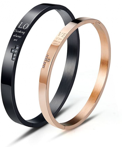 Wolentty His and Hers Matching Bracelets