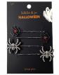 Hildie & Jo Halloween Spider & Spiderweb Hairpins