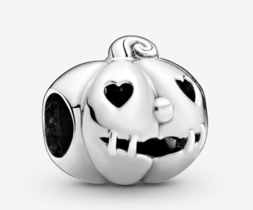 Pandora Pumpkin Halloween Charm