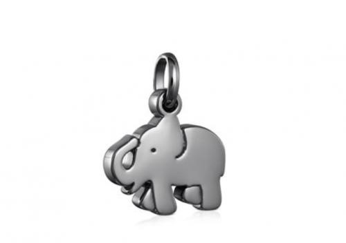 Tous Dark Silver Sweet Dolls Elephant Pendant