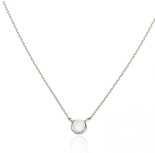 Wolf & Badger Diamond Necklace