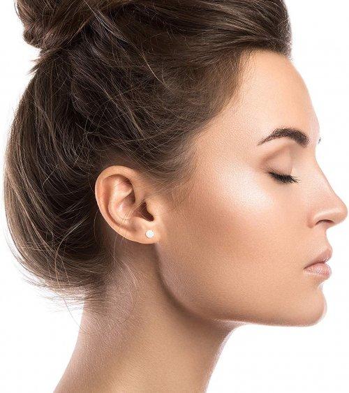 Decandence Opal Stud Earrings Model