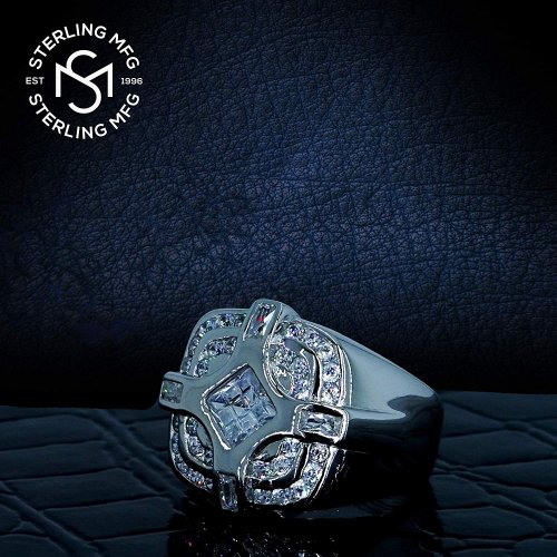 Sterling silver ring collection