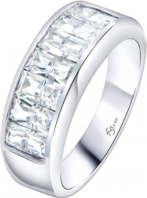 Sterling Manufacturers Cubic Zirconia Stones Ring