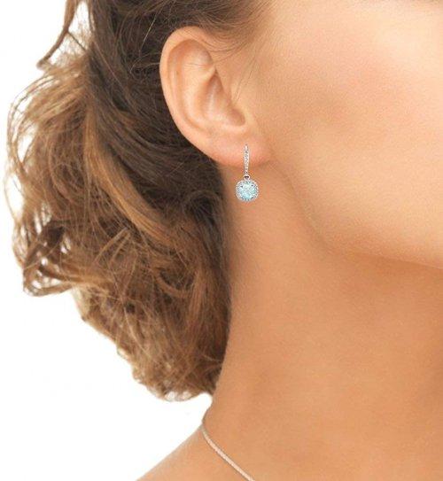 Sterling Silver Genuine Earrings model