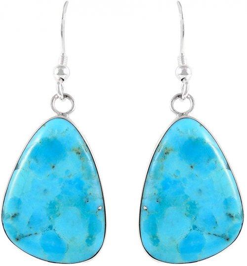Turquoise Network Earrings