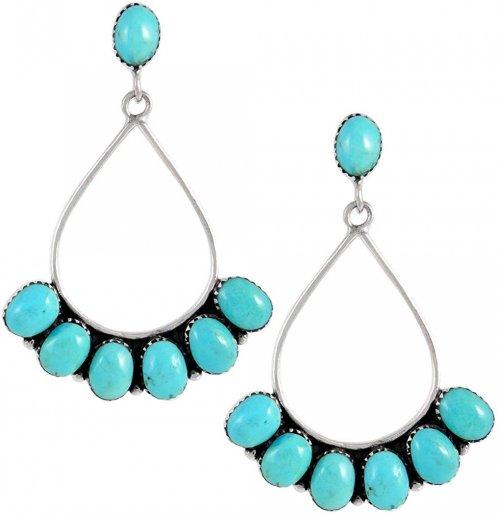 Turquoise Network Turquoise Earrings