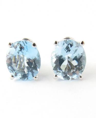 Amazing Aquamarine Earrings: March Birthstone Jewelry!