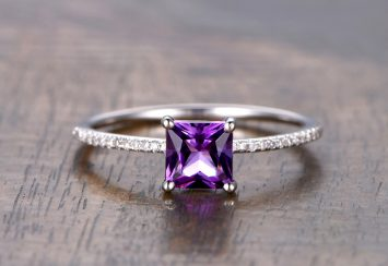 10 Amethyst Rings Because Purple is the new Best Color to Wear!