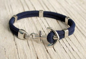 Latest Trend Around? Anchor Bracelets and We Love Them!
