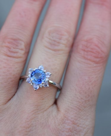 Stunning Blue Engagement Rings - In All Price Ranges!