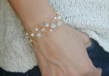 Moonstone Bracelets Are The Only Accessory You'll Need This Spring