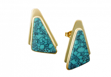 10 Turquoise Earrings For a Pop of Color!