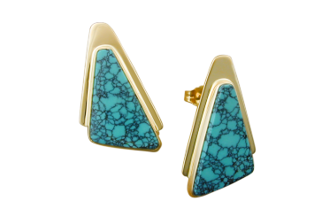 A Selection of Turquoise Earrings For a Pop of Color!