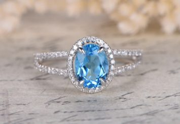 Our Latest Obsession: Blue Topaz Rings!
