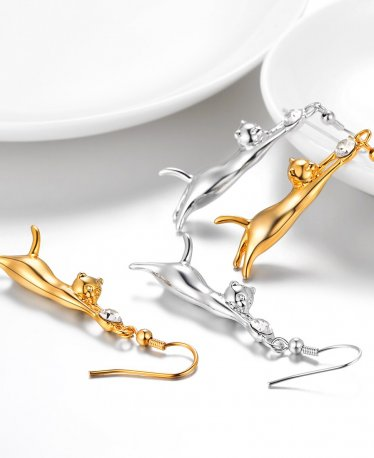 Hey Cat Ladies: Check Our Cat Jewelry Selection!