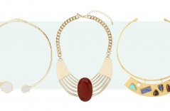 Go Simple and Bold with a Collar Necklace from Our Selection