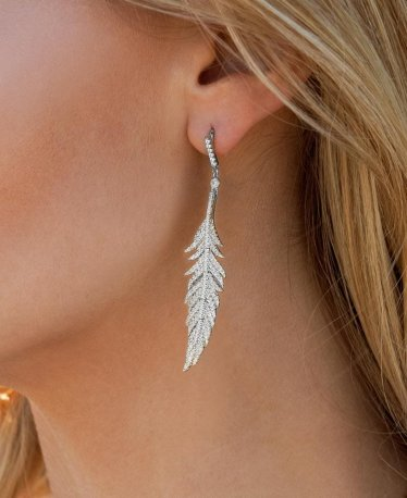 The Most Beautiful Feather Earrings | 2021 Edition