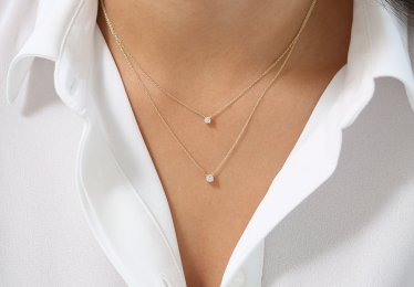 Our Selection for the Best Floating Diamond Necklaces