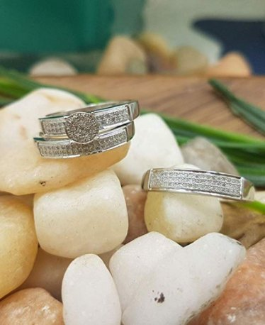 Pick Your Rings from Our Top Wedding Trio Finds!