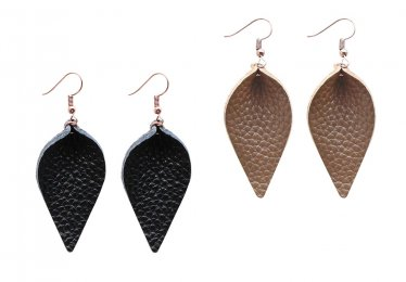 We Found the Most Elegant Leather Earrings!