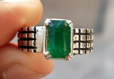 A Guy Deserves an Emerald too - Browse Our Selection of Men's Emerald Rings!