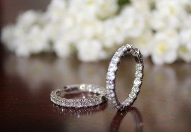 Dazzling Moissanite Earrings Selection