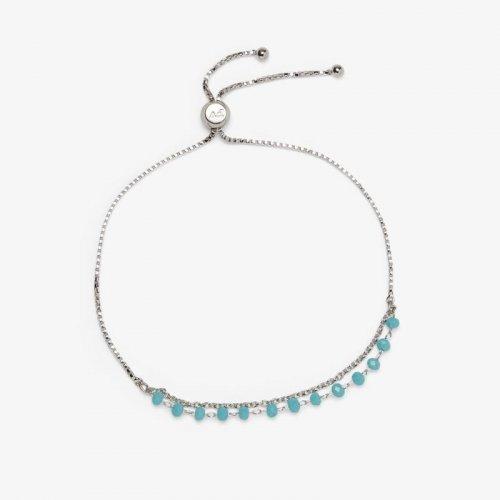 Neon Chain Slider Bracelet