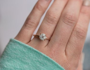 Our Favorite Rose Gold Engagement Rings Selection