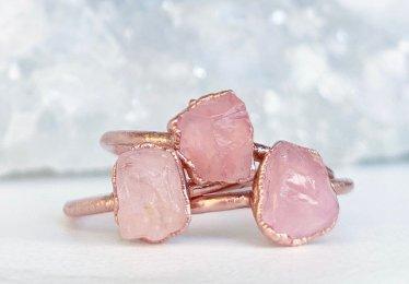 10 Affordable Rose Quartz Ring!