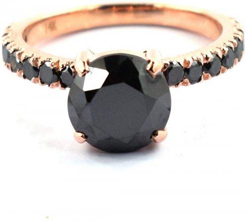 Skyjewels black diamond ring
