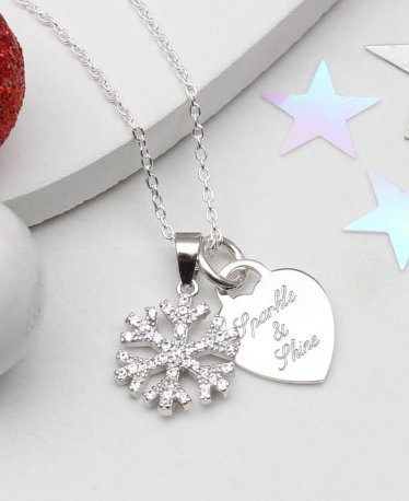 The Perfect Winter Jewelry Gift? Check These 10 Snowflake Necklaces!