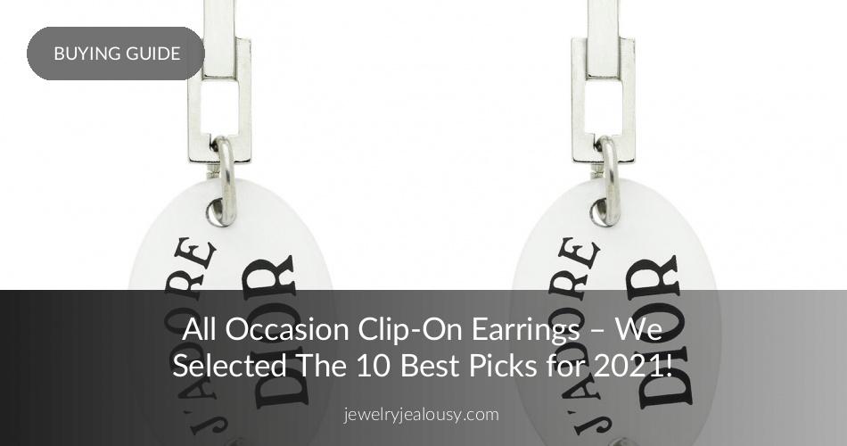 825a65927 The 20 Best Clip On Earrings for Women - Statement Jewelry Trend   JJ