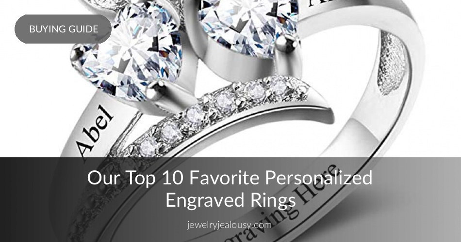 252b3724c6 Engraved Rings: Affordable Personalized Rings Selection | JJ