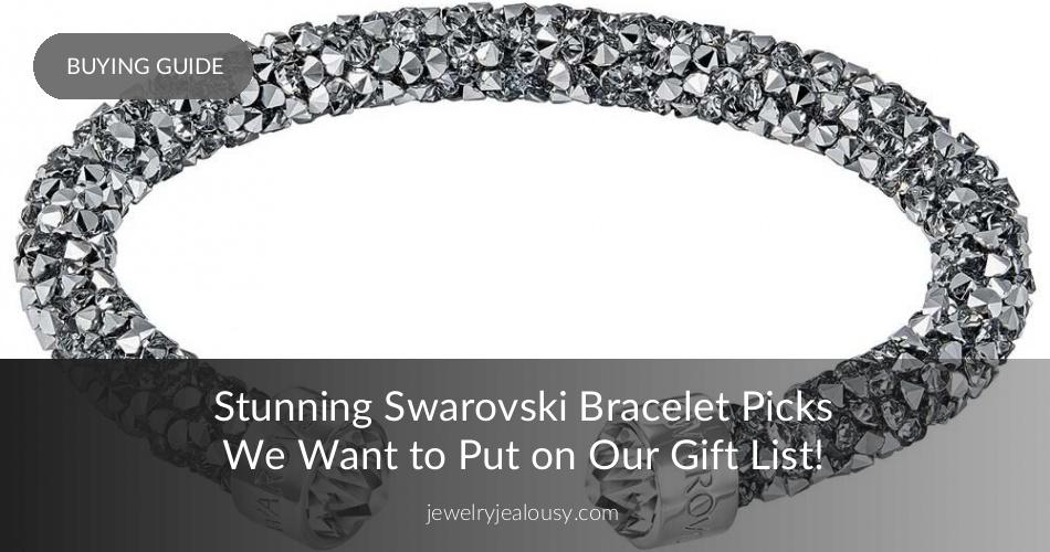 Swarovski Bracelet: Stuning Crystal Jewelry   JewelryJealousy