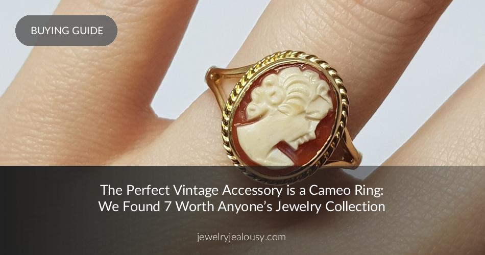 849edc5bd7e5e The Perfect Vintage Accessory? A Cameo Ring! | JewelryJealousy